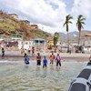El 80% de la población de Dominica precisa asistencia tras el paso del  huracán María. Foto: Karel van Oosterom, representante permanente ante la ONU de los Países Bajos