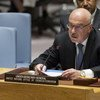 Vladimir Voronkov, Under-Secretary-General, United Nations Office of Counter Terrorism briefs the Security Council Meeting on Threats to international peace and security caused by terrorist acts.
