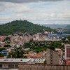 Vista de Tegucigalpa, la capital hondureña.