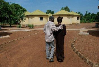 Des patients séropositifs à la clinique Shekhina pour les pauvres et les indigents à Tamale, au Ghana.
