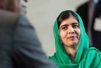Малала Юсуфзай получила Нобелевскую премию мира в 2014 году за свою деятельность по защите прав девочек на образование.