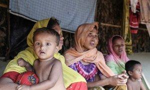 Беженцы из Мьянмы. Фото Управления  ООН по координации гуманитарных вопросов