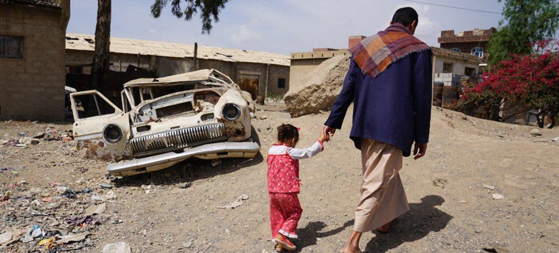 المدنيون هم من يتحملون العبء الأكبر في الصراع في اليمن