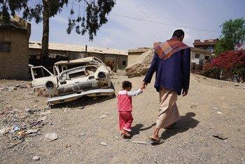 المدنيون هم من يتحملون العبء الأكبر في الصراع في اليمن - المصدر: OCHA