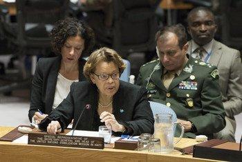 ساندرا أونوريه، ممثلة الأمين العام في هايتي ورئيسة بعثة مينوستا - الصورة: الأمم المتحدة