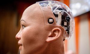 """a IA """"pode melhorar a previsão do tempo, impulsionar o rendimento das colheitas, melhorar o diagnóstico de cancro, prever uma epidemia e melhorar a produtividade industrial."""