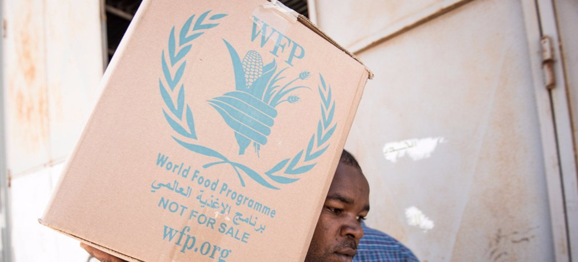 The World Food Programme (WFP) is providing emergency food assistance to families in Libya's conflict hit Sabratha.