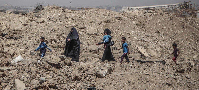 أرشيف: نازحون داخليا في العراق- الصورة: OCHA