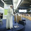 Address by His Holiness Pope Francis. World Food Day Ceremony, FAO Headquarters (file photo).