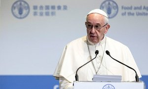 His Holiness Pope Francis (file)