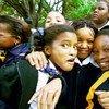 Crianças em escola na África do Sul