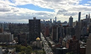 View of New York City, United States.