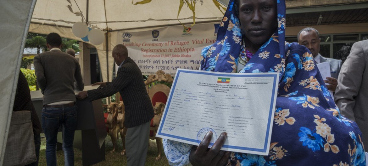 Ethiopia begins civil registration for refugees – UN agencies | UN News