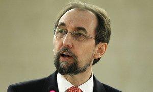 Верховный комиссар ООН по правам человека Зейд Раад аль-Хусейн