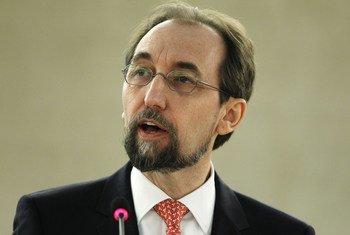 UN High Commissioner for Human Rights Mr. Zeid Ra'ad Al Hussein.