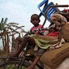 Hundreds of families have fled recently into Kananga, the capital of DRC's Kasai Central Province. The greater Kasai region has been hit by a conflict that erupted in August 2016.