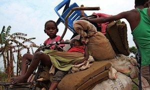Des civils fuyant les violences dans la région du Kasaï en République démocratique du Congo (Archives).