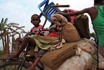 Em agosto, mais de 24 mil pessoas fugiram de três confrontos separados na região.