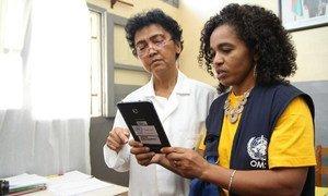 马达加斯加鼠疫暴发后,世界卫生组织提供了帮助迅速收集与疫情相关数据系统。