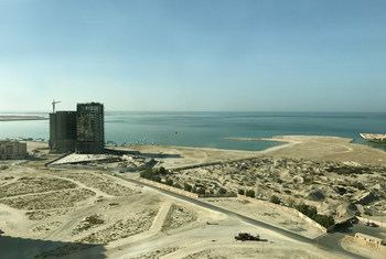 波斯湾畔的巴林首都麦纳麦。