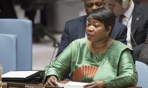 Promotora-chefe do Tribunal Penal Internacional, TPI, Fatou Bensouda.