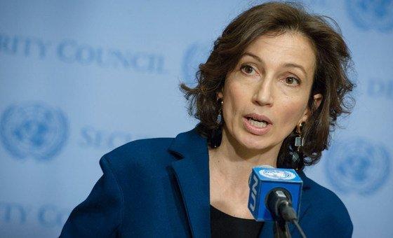 """Diretora-geral da agência, Audrey Azoulay, disse que expressou """"sérias preocupações"""" ao embaixador da Turquia junto à Unesco, nesta sexta-feira, dizendo que a decisão foi tomada sem qualquer discussão.."""