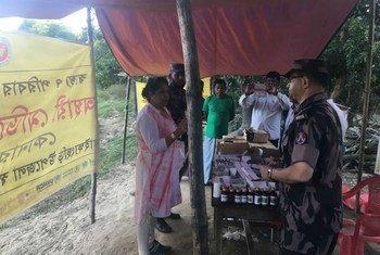 秘书长冲突中性暴力问题特别代表帕滕在接纳了大量缅甸罗兴亚难民的孟加拉国考克斯巴扎地区进行访问,了解罗兴亚难民妇女遭受性暴力的问题。