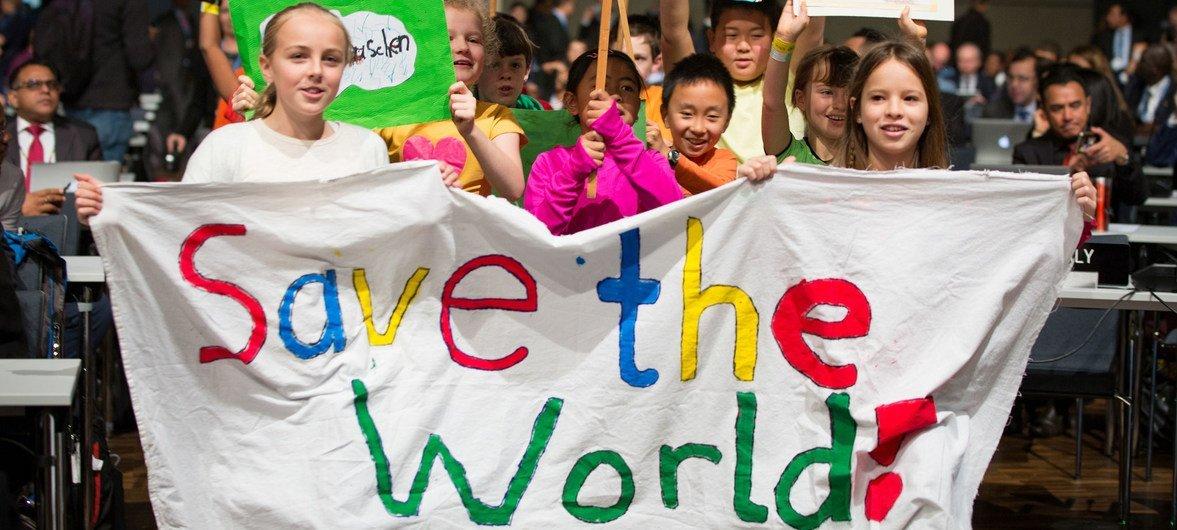Молодежь принимает активное участие в Конференции ООН по изменению климата в Бонне.