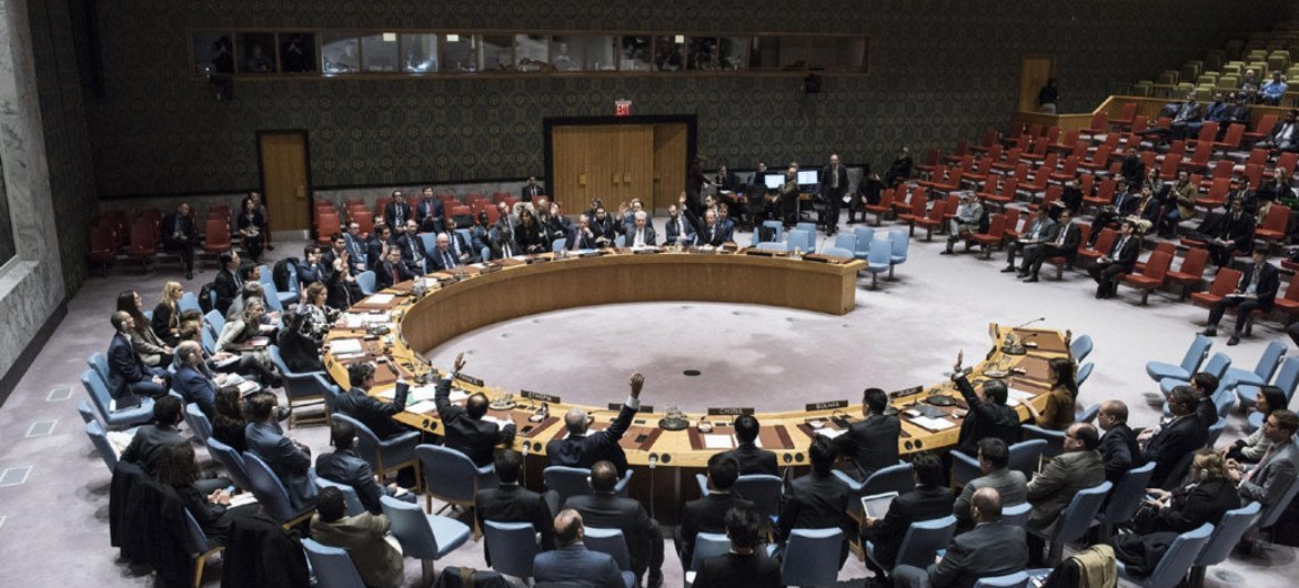 Security Council votes on resolution on joint Organisation for the Prohibition of Chemical Weapons (OPCW)-UN panel, the Joint Investigative Mechanism (JIM).