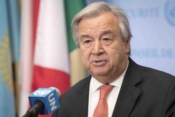 Генеральный секретарь ООН Антониу Гутерриш. Фото ООН/Марк Гартен