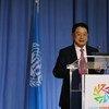 在联合国工发组织第十七届会议开幕式上,李勇再次被任命为联合国工业发展组织(工发组织)总干事。