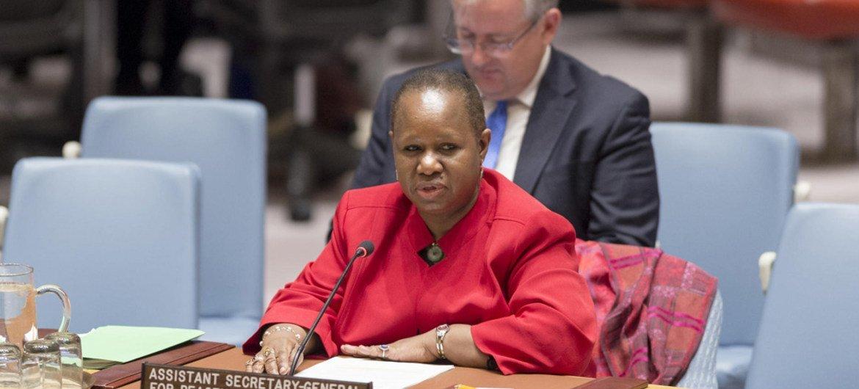 联合国政治事务和建设和平部及和平行动部负责非洲事务的助理秘书长宾图·凯塔
