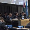 Miroslav Lajvak, President of the General Assembly at the special meeting of the Committee on the Exercise of the Inalienable Rights of the Palestinian People in observance of the International Day of Solidarity with the Palestinian People.