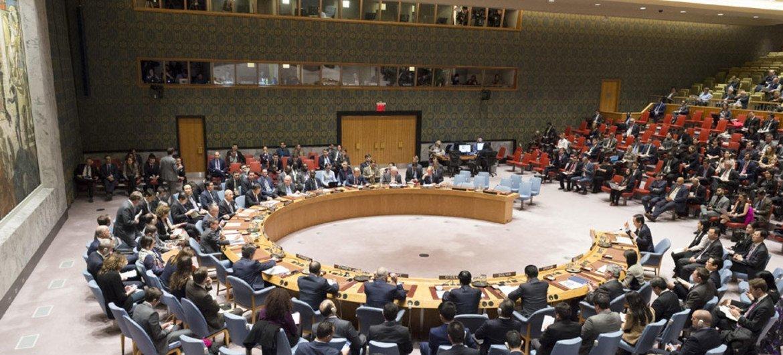 El Consejo de Seguridad en una reunión sobre la no-proliferación en Corea del Norte.