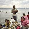 缅甸罗兴亚难民。儿基会/Brown