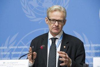 Советник ООН по гуманитарной помощи в Сирии Ян Эгеланн