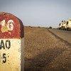 В районе Гао миротворцы ООН вместе с вооруженными силами Мали поддерживают безопасность, зачастую рискуя собственной жизнью.