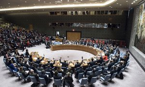 The Security Council votes on a draft resolution on Jerusalem.