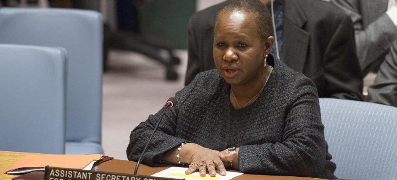 La Sous-Secrétaire générale aux opérations de maintien de la paix, Bintou Keïta, devant le Conseil de sécurité (archives)