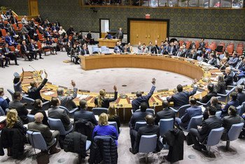 The Security Council unanimously adopts resolution 2397 (2017), condemning in the strongest terms the ballistic missile launch conducted by the Democratic People's Republic of Korea (DPRK) on 28 November 2017 in violation and flagrant disregard of the Security Council's resolutions on non-proliferation.