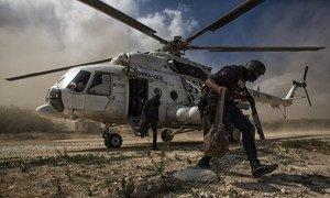 Миссия ООН по стабилизации в Гаити (МООНСГ) предоставила сотрудников для обеспечения безопасности в ходе проведения выборов 29 января 2016 года
