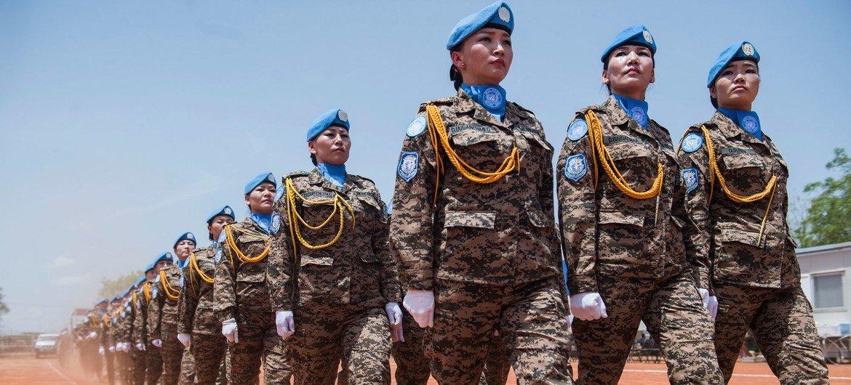 Монгольский миротворческий контингент в составе Миссии ООН в Южном Судане  (МООНЮС)