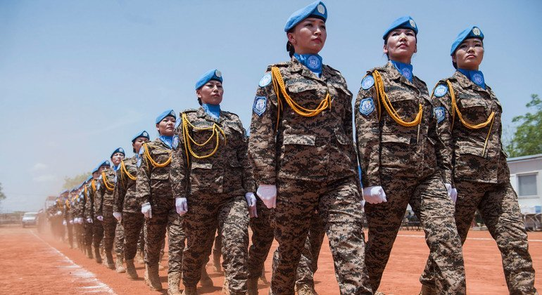 Service and Sacrifice:  Mongolia continues to strengthen its contribution to UN peacekeeping