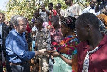 联合国秘书长 图片/Eskinder Debebe
