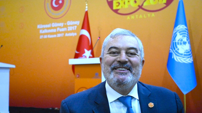 Magdy Martínez Solimán, director de la Oficina de Políticas y Apoyo de Programas del Programa de la ONU para el Desarrollo (PNUD).