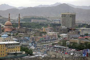 A view of Kabul, the capital of Afghanistan.