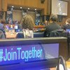'Together' summit at UN Headquarters in New York on combating the plight of refugees. UN News/Elizabeth