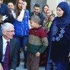 Марк Локок в Хомсе. Фото ООН