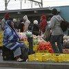 南非的非正规交易市场。