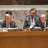 Генеральный секретарь  ООН  Антониу Гутерриш и президент Казахстана Нурсултан Назарбаев на заседании  Совбеза по нераспространению. Фото ООН